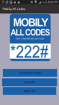 Mobily All Codes poster