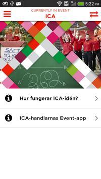 ICA-handlarnas Event poster