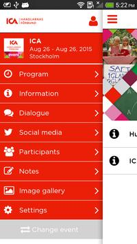 ICA-handlarnas Event screenshot 1