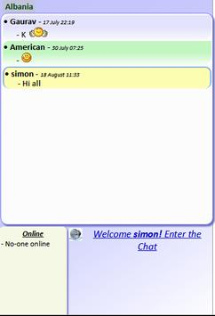 Public Chat Rooms screenshot 1
