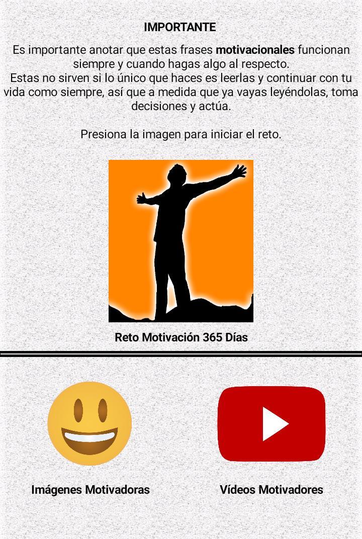 Reto Motivación 365 For Android Apk Download