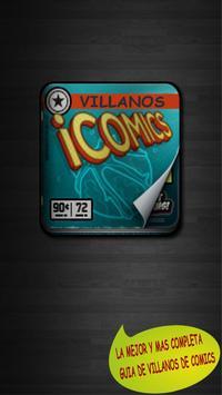 Villains Comic poster