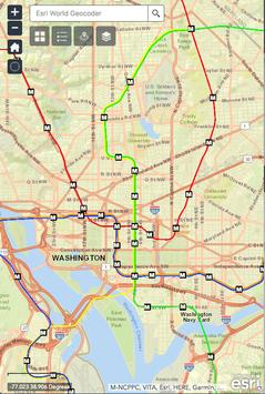 Washington DC Metro Map screenshot 2