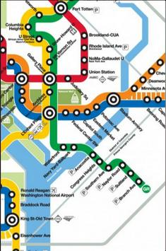Washington DC Metro Map screenshot 4