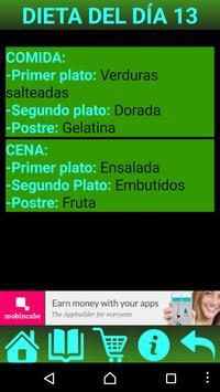 Estudiante Dieta screenshot 2