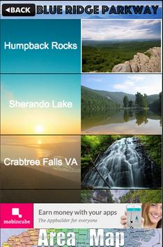 Blue Ridge Parkway Guide poster