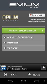 Emium - Barcelona Night Clubs screenshot 2
