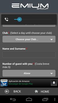 Emium - Barcelona Night Clubs screenshot 4