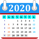Calendar in English 2020 Free APK Android