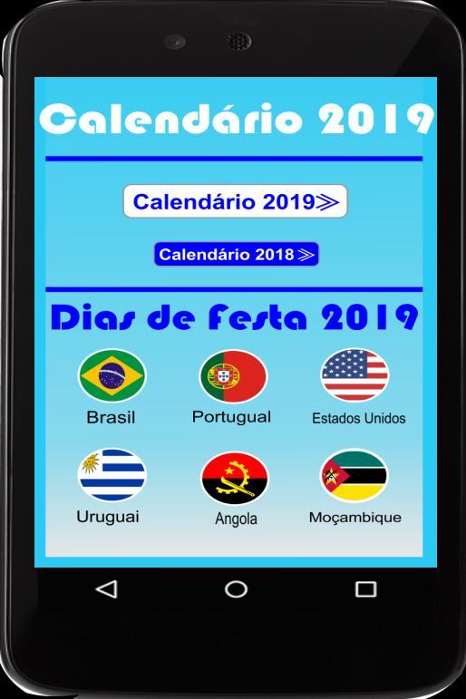 Gadget Calendario.Calendario Portugues 2019 Feriados For Android Apk Download