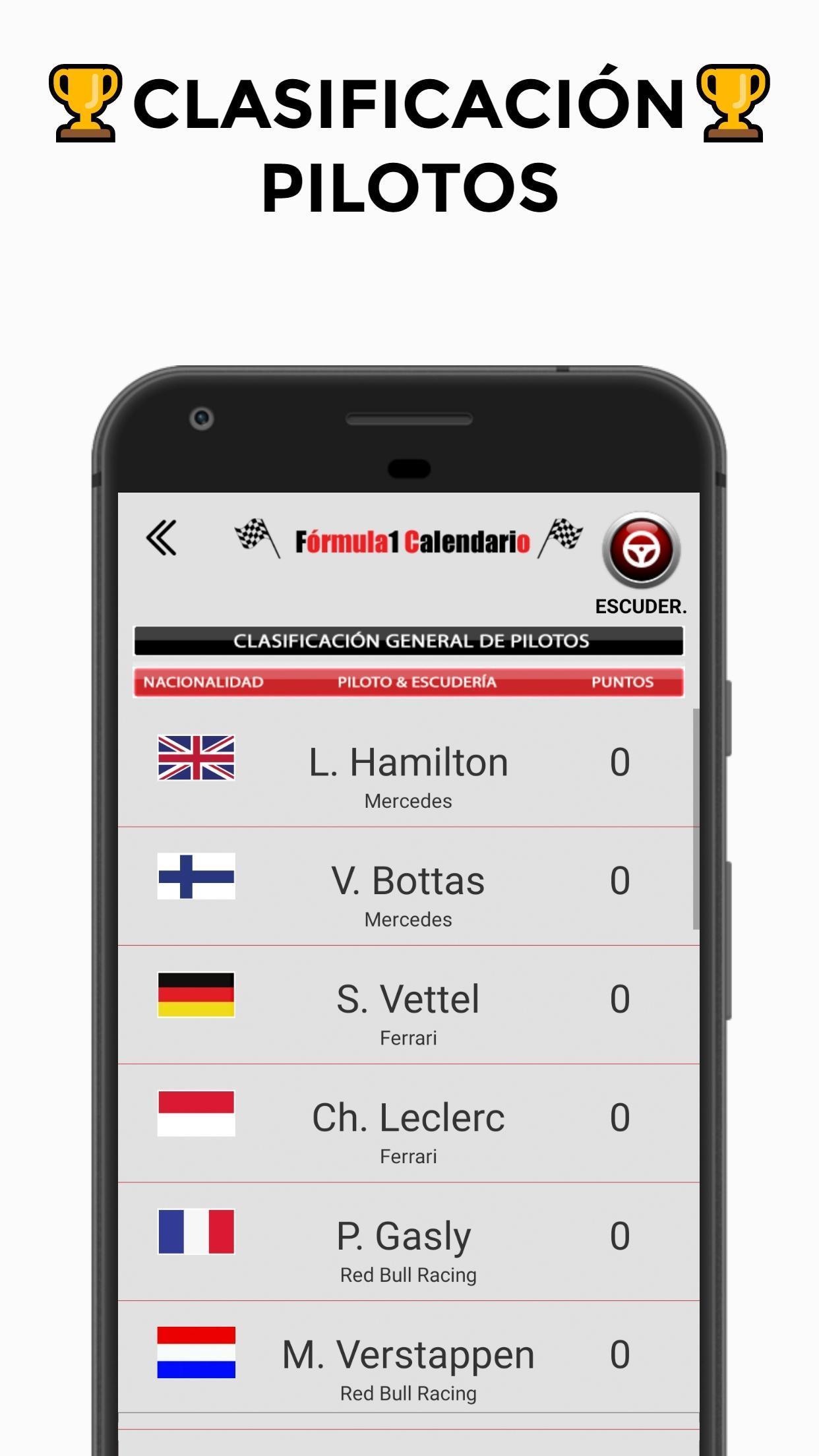 Calendario Formula Indy 2019.Formula Calendario 2019 For Android Apk Download