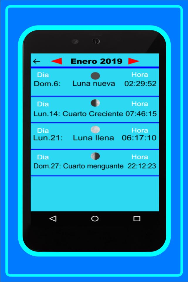 Gadget Calendario.Calendario Lunar 2019 For Android Apk Download