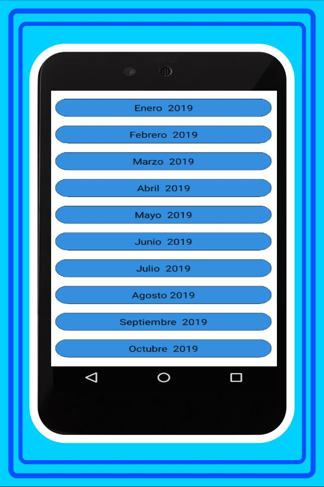 Calendario Chile 2019.Calendario Chile 2019 For Android Apk Download