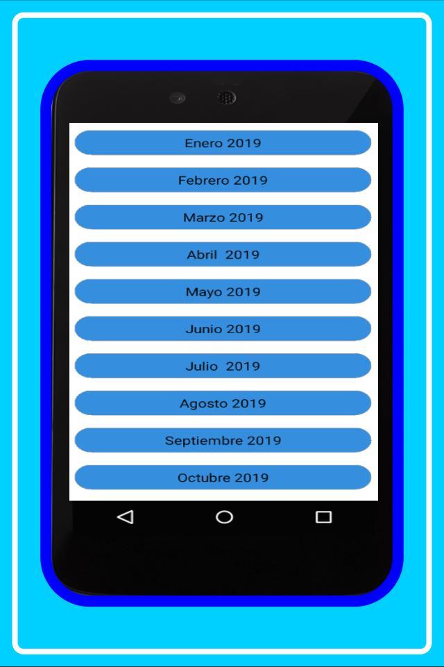 Calendario De Octubre 2019 Peru.Calendario Peru 2019 For Android Apk Download