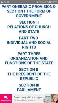 Constitution of Greece screenshot 1