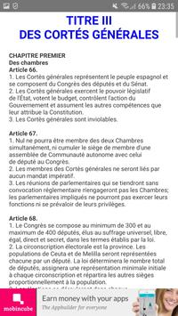 Constitution Espagnole screenshot 3