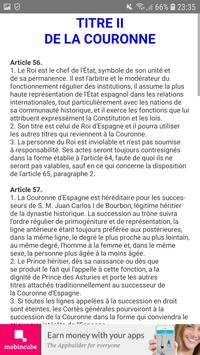 Constitution Espagnole screenshot 2