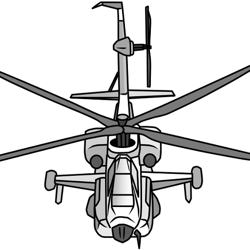 Draw Aircrafts: Helicopter