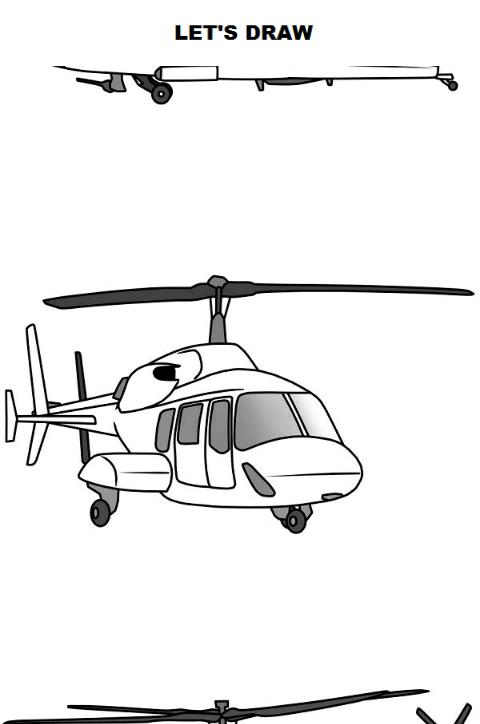 Draw Aircrafts Helicopter For Android Apk Download