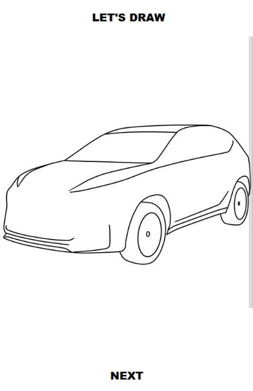 Draw Cars Suv Screenshot 2