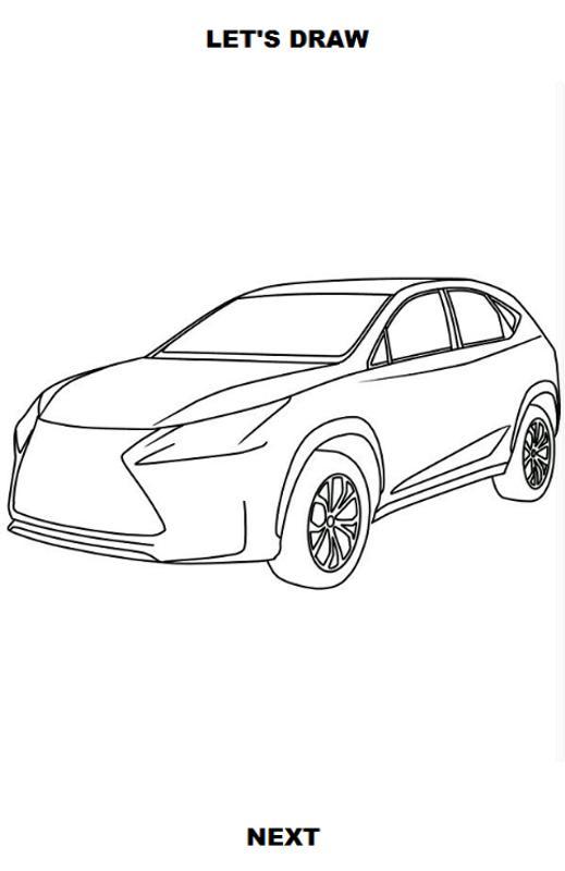 Draw Cars Suv Screenshot 3