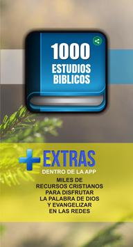1000 Estudios Biblicos Poster