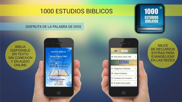 1000 Estudios Biblicos captura de pantalla 1