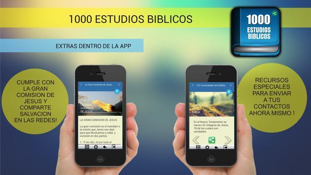 1000 Estudios Biblicos captura de pantalla 3