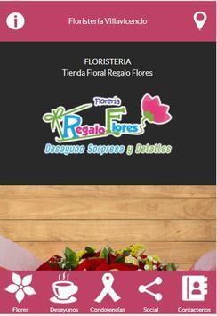 Floristería Regalo Flores poster