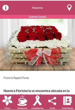 Floristería Regalo Flores screenshot 2