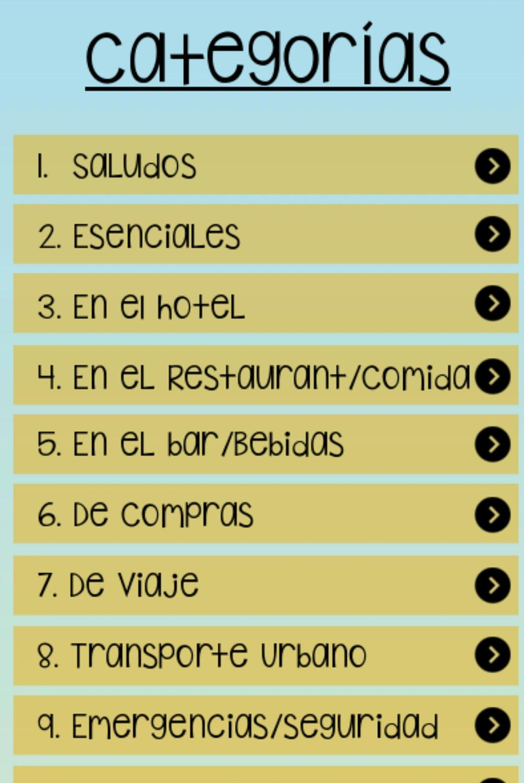 Frases En Inglés Para Viajeros For Android Apk Download