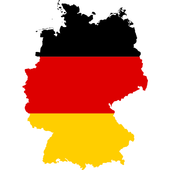 Germany flag map icon