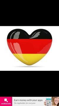 Germany flag map captura de pantalla 1