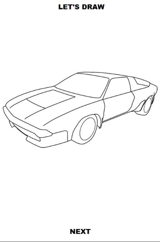 Draw Cars Classic For Android Apk Download