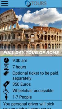 Tours in Rome screenshot 1