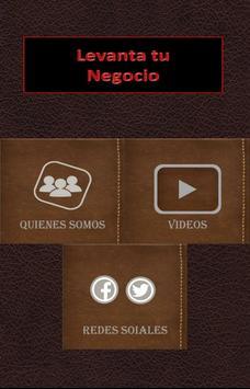 Levanta tu Negocio screenshot 1