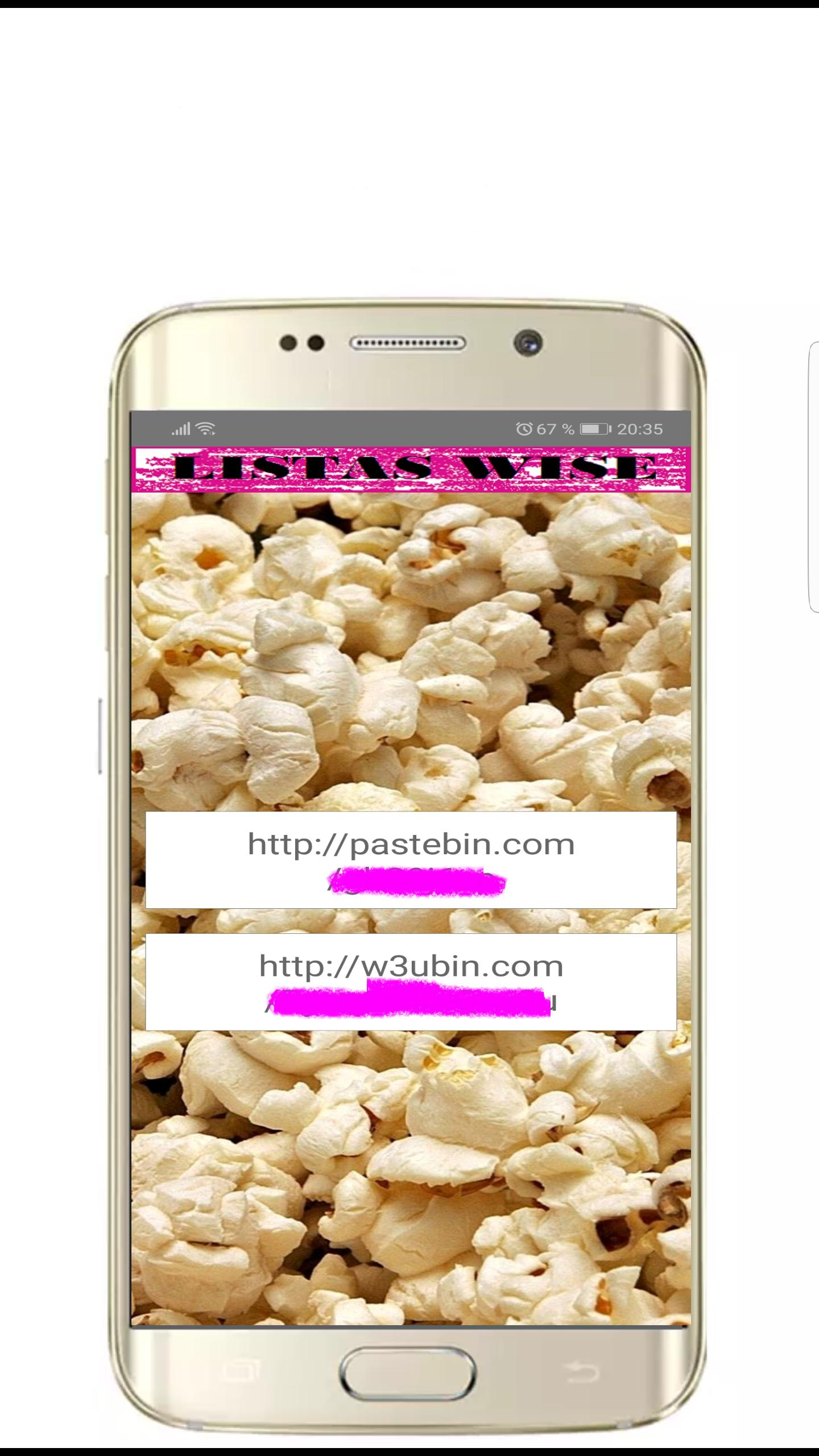 Listas Wise IPTV for Android - APK Download