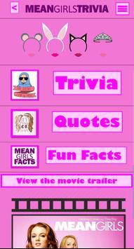 Mean Girls Trivia screenshot 1
