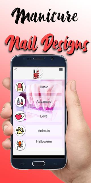 Nails Manicure Nail Designs Tutorial 2019 Nail Art For Android Apk Download