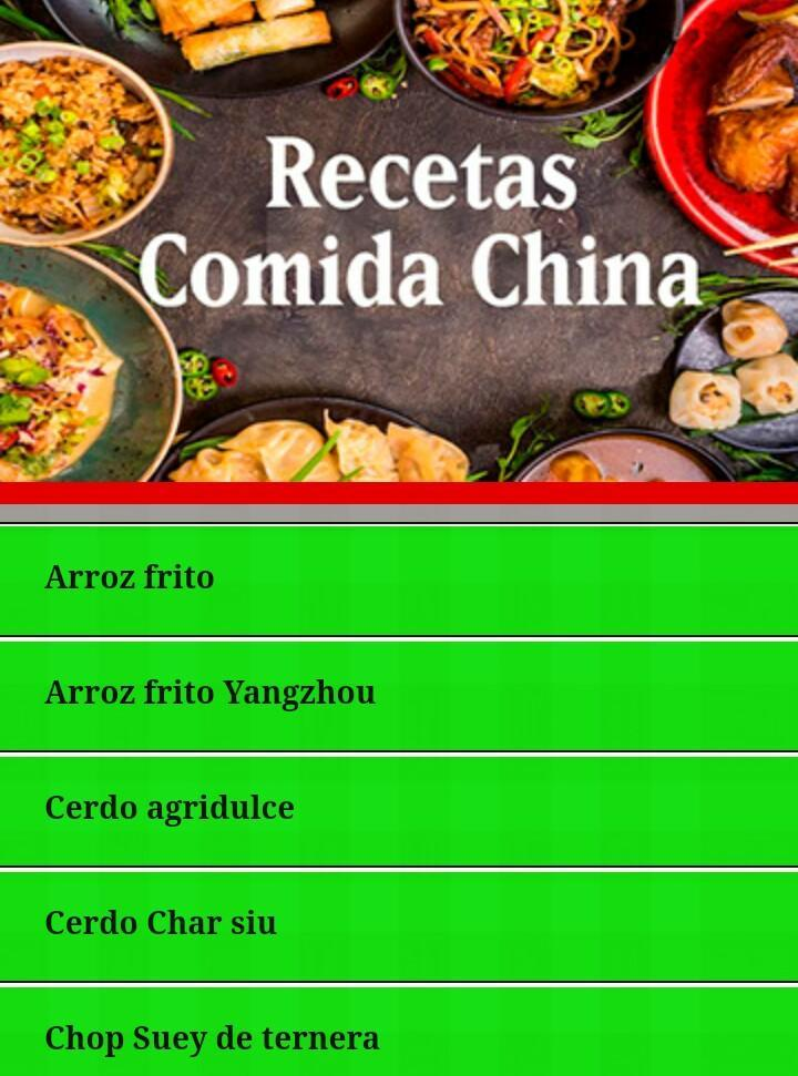Recetas Cocina China For Android Apk Download
