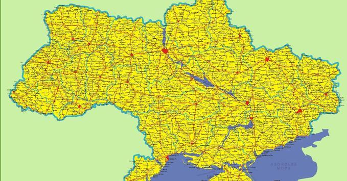Карта України screenshot 3
