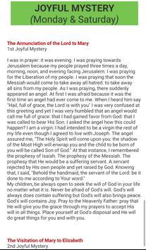 How to pray the Holy Rosary screenshot 6