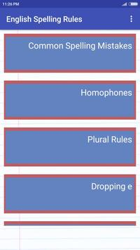 English Spelling Rules poster