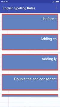 English Spelling Rules screenshot 2