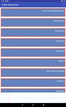 English Spelling Rules screenshot 6