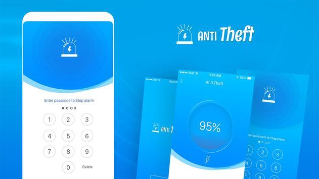 Charging Theft Alarm الملصق