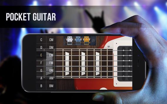 Real guitar - guitar simulator with effects Plakat