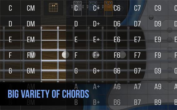 Real guitar - guitar simulator with effects Screenshot 4