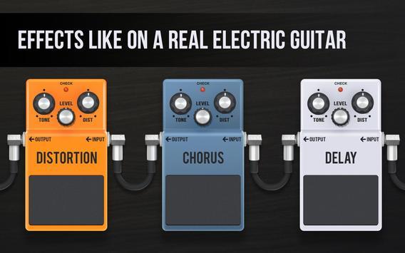 Real guitar - guitar simulator with effects Screenshot 6