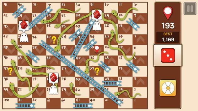 10 Schermata Scale e serpenti Re